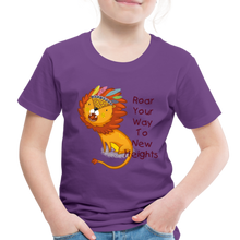 Load image into Gallery viewer, PBF Lion Toddler Premium T-Shirt - purple