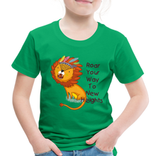Load image into Gallery viewer, PBF Lion Toddler Premium T-Shirt - kelly green