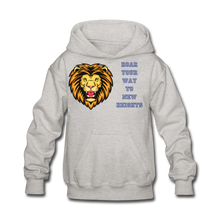 Load image into Gallery viewer, PBF Lion Kids' Hoodie - heather gray