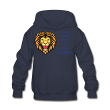 Load image into Gallery viewer, PBF Lion Kids' Hoodie - navy