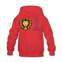Load image into Gallery viewer, PBF Lion Kids' Hoodie - red