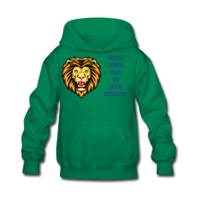 Load image into Gallery viewer, PBF Lion Kids' Hoodie - kelly green