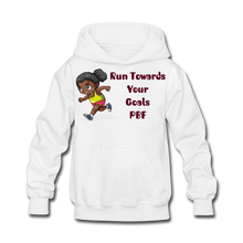 Load image into Gallery viewer, PBF Run Kids' Hoodie - white