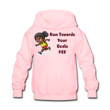 Load image into Gallery viewer, PBF Run Kids' Hoodie - pink