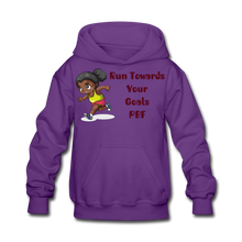 Load image into Gallery viewer, PBF Run Kids' Hoodie - purple
