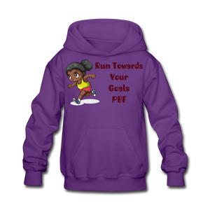 PBF Run Kids' Hoodie - purple