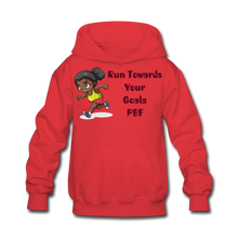 Load image into Gallery viewer, PBF Run Kids' Hoodie - red