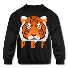 Load image into Gallery viewer, PaperboyFly Tiger Long Sleeve Baby Bodysuit - black