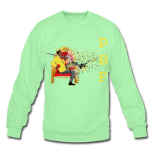 Load image into Gallery viewer, PBF Mens Crewneck Sweatshirt - lime