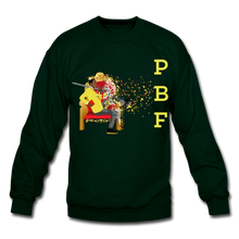 Load image into Gallery viewer, PBF Mens Crewneck Sweatshirt - forest green