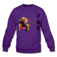 Load image into Gallery viewer, PBF Mens Crewneck Sweatshirt - purple