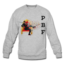 Load image into Gallery viewer, PBF Mens Crewneck Sweatshirt - heather gray