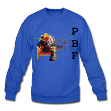 Load image into Gallery viewer, PBF Mens Crewneck Sweatshirt - royal blue