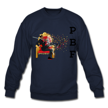 Load image into Gallery viewer, PBF Mens Crewneck Sweatshirt - navy