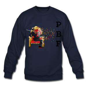 PBF Mens Crewneck Sweatshirt - navy