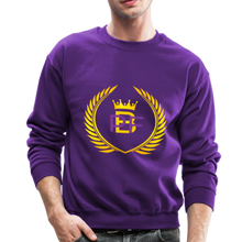 Load image into Gallery viewer, PBF Men's Unisex Crewneck Sweatshirt - purple