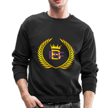 Load image into Gallery viewer, PBF Men's Unisex Crewneck Sweatshirt - black