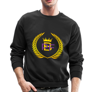 PBF Men's Unisex Crewneck Sweatshirt - black