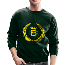 Load image into Gallery viewer, PBF Men's Unisex Crewneck Sweatshirt - forest green