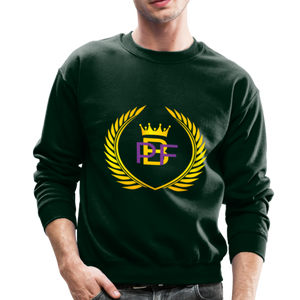 PBF Men's Unisex Crewneck Sweatshirt - forest green