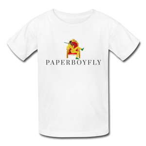 PBF Youth Tagless T-Shirt - white