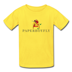 PBF Youth Tagless T-Shirt - yellow