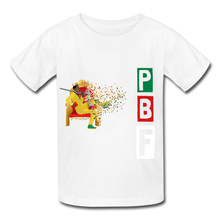 Load image into Gallery viewer, PBF Youth Tagless T-Shirt - white