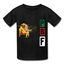 Load image into Gallery viewer, PBF Youth Tagless T-Shirt - black
