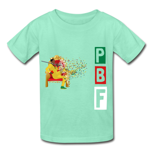 PBF Youth Tagless T-Shirt - deep mint
