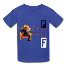 Load image into Gallery viewer, PBF Youth Tagless T-Shirt - royal blue