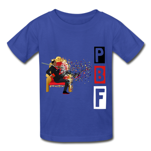 PBF Youth Tagless T-Shirt - royal blue