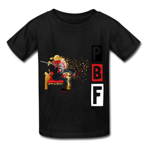 PBF Youth Tagless T-Shirt - black