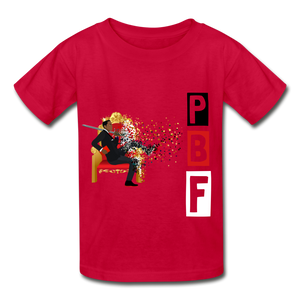 PBF Youth Tagless T-Shirt - red