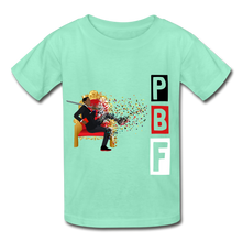 Load image into Gallery viewer, PBF Youth Tagless T-Shirt - deep mint