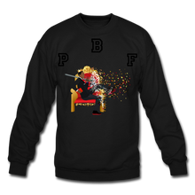 Load image into Gallery viewer, PBF Shattered Crewneck Sweatshirt - black