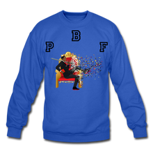 Load image into Gallery viewer, PBF Shattered Crewneck Sweatshirt - royal blue