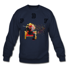 Load image into Gallery viewer, PBF Shattered Crewneck Sweatshirt - navy