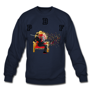 PBF Shattered Crewneck Sweatshirt - navy
