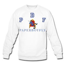 Load image into Gallery viewer, PBF Crewneck Sweatshirt - white