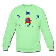 Load image into Gallery viewer, PBF Crewneck Sweatshirt - lime