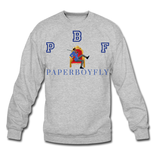 PBF Crewneck Sweatshirt - heather gray