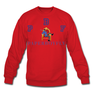 PBF Crewneck Sweatshirt - red