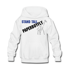 Load image into Gallery viewer, PBF Kids' Hoodie - white