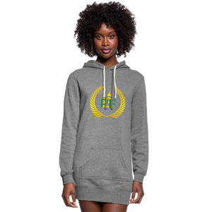 PBF Women's Hoodie Dress - heather gray