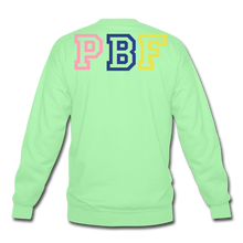 Load image into Gallery viewer, PBF MultiColor Crewneck Sweatshirt - lime