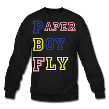Load image into Gallery viewer, PBF MultiColor Crewneck Sweatshirt - black