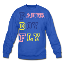 Load image into Gallery viewer, PBF MultiColor Crewneck Sweatshirt - royal blue