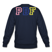 Load image into Gallery viewer, PBF MultiColor Crewneck Sweatshirt - navy