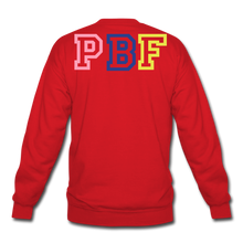 Load image into Gallery viewer, PBF MultiColor Crewneck Sweatshirt - red