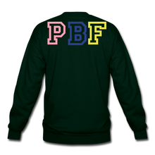Load image into Gallery viewer, PBF MultiColor Crewneck Sweatshirt - forest green